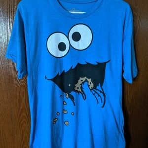 COOKIE MONSTER Adult XL Mens T shirt
